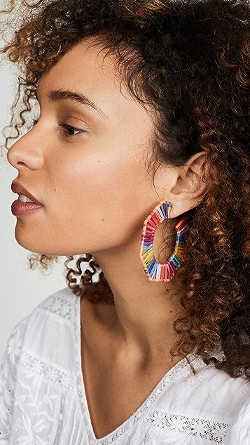 BaubleBar Reinette 圈式耳环