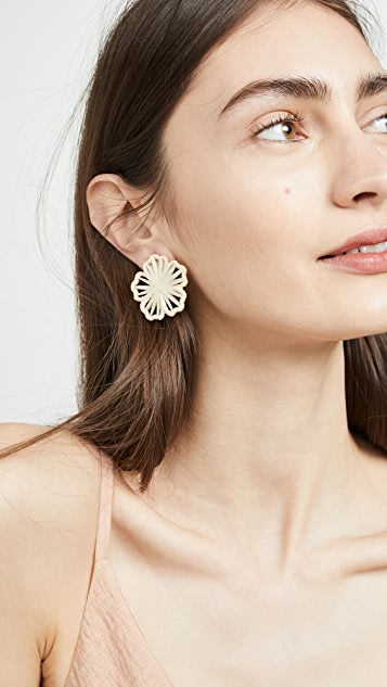 BaubleBar Polliana Flower Stud Earrings