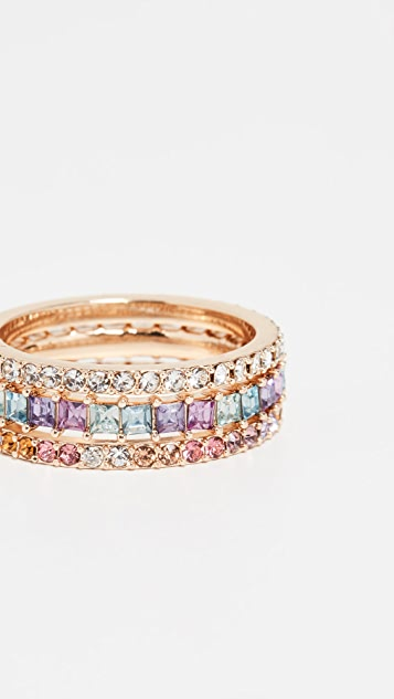 BaubleBar Adeen Ring Set