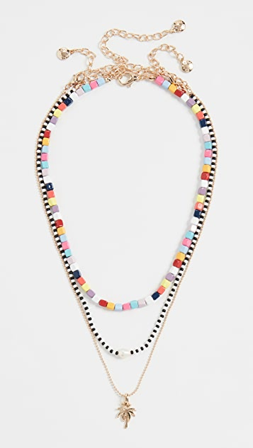 BaubleBar Alleria Layered Necklace Set