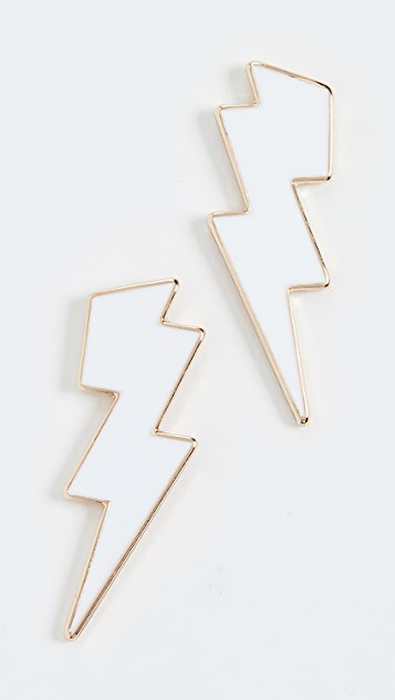 BaubleBar Bolt Stud Earrings
