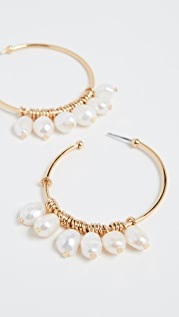 BaubleBar Marquita Hoop Earrings