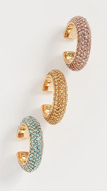 BaubleBar Elsa Trio Ear Cuff Set