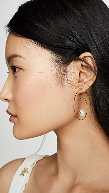 BaubleBar Sophea 圈式耳环