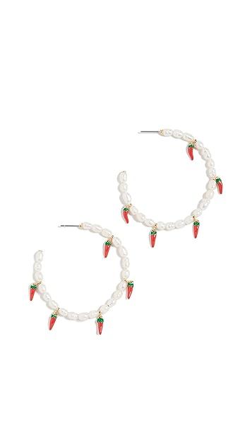 BaubleBar Solita Hoop Earrings
