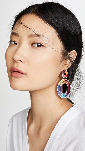 BaubleBar Mini Kiera Hoop Earrings