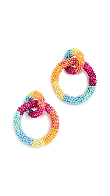 BaubleBar Emma Hoop Earrings