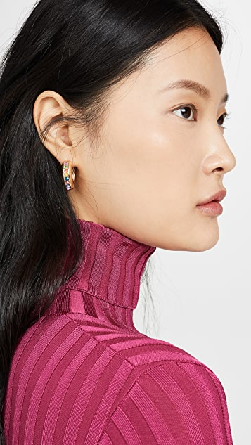 BaubleBar Lumina Hoop Earrings
