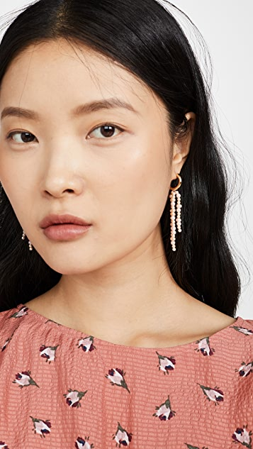 BaubleBar Pearl Granita Tassel Earrings
