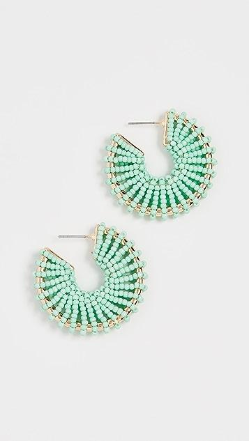 BaubleBar Giana Hoop Earrings