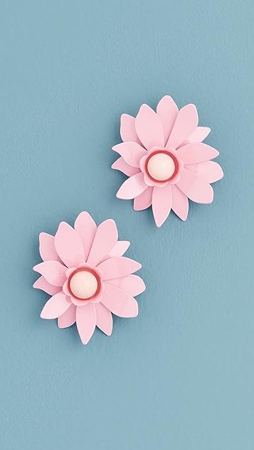 BaubleBar Daisy Stud Earrings
