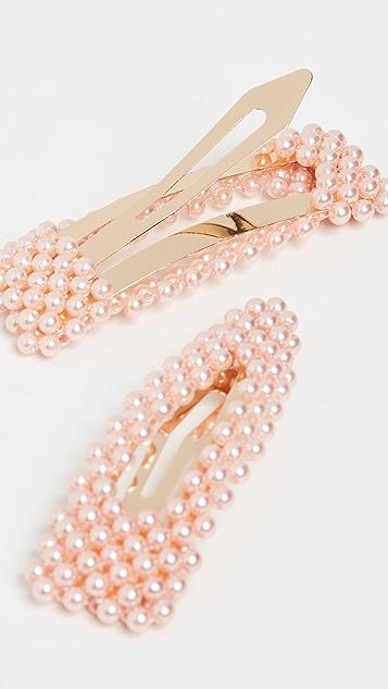 BaubleBar 人造珍珠发夹套装