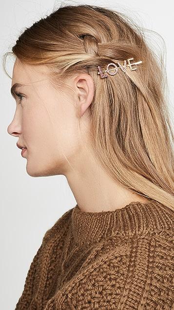 BaubleBar Love Hair Pin