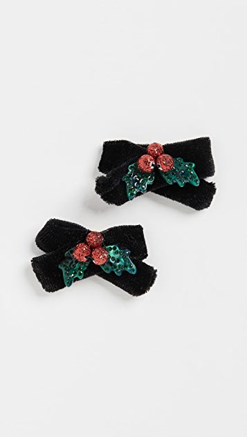 BaubleBar Bow Down Stud Earrings