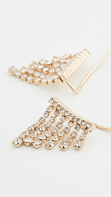 BaubleBar Vela Fringe Earrings