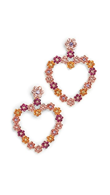 BaubleBar Flower Heart Statement Drops