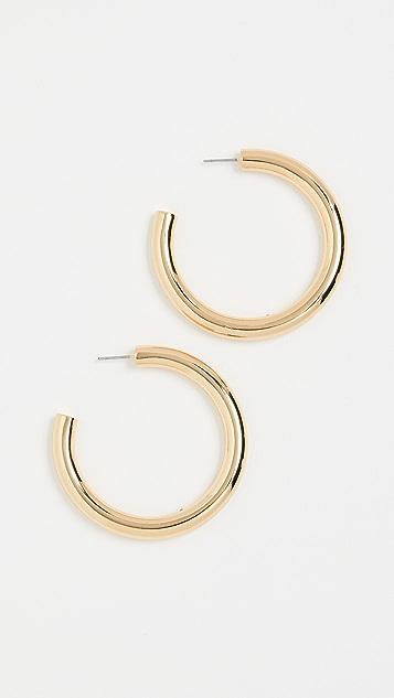 BaubleBar Daliah Hoop Earrings