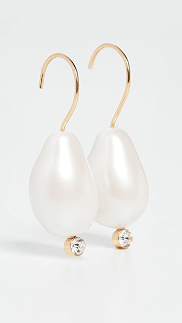 BaubleBar Dayla Pearl Drop Earrings