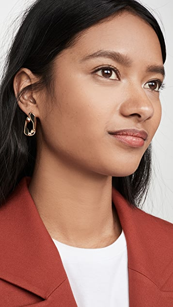 BaubleBar Michel Large Stud Earrings