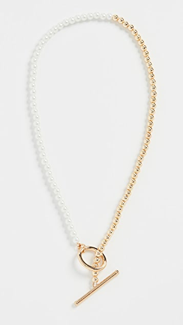 BaubleBar Gia Toggle Necklace