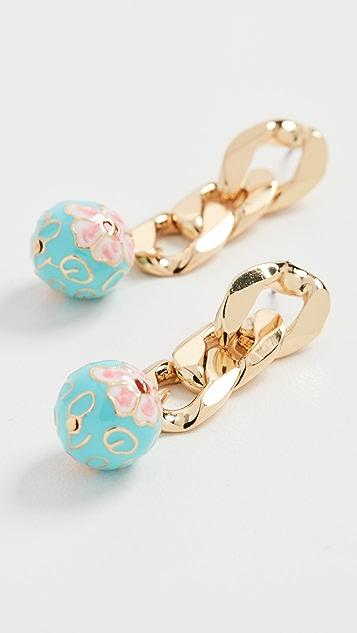 BaubleBar Venier Drop Earrings