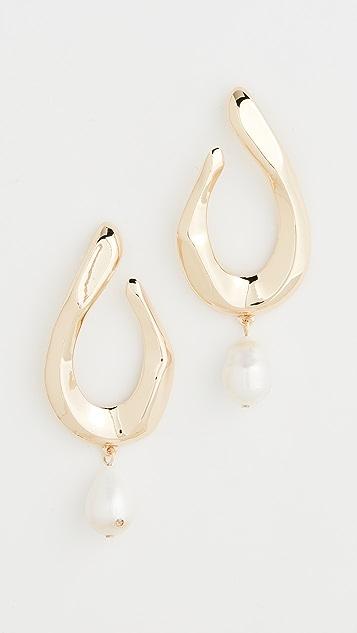 BaubleBar Petra Pearl Drop Earrings