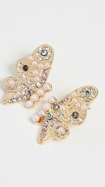 BaubleBar Lady Button Stud Earrings