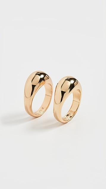 BaubleBar Maro Ring Set