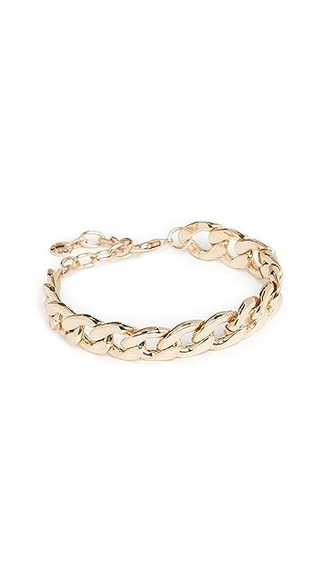 BaubleBar Large Curb Chain Bracelet