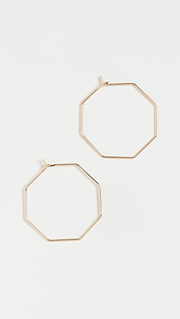 BaubleBar Sera Hoop Earrings