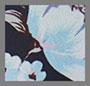 蓝色/深海蓝花卉