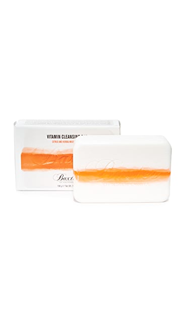 Baxter of California Citrus & Herbal Musk Vitamin Cleansing Bar