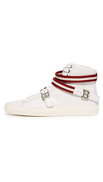 Bally Heilmar High Top Sneakers
