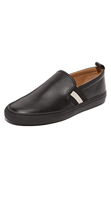 Herald loafers - Black Bally