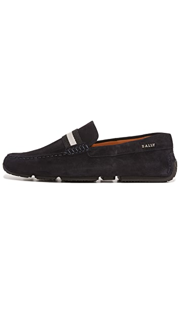 Bally Pearce Suede Drivers