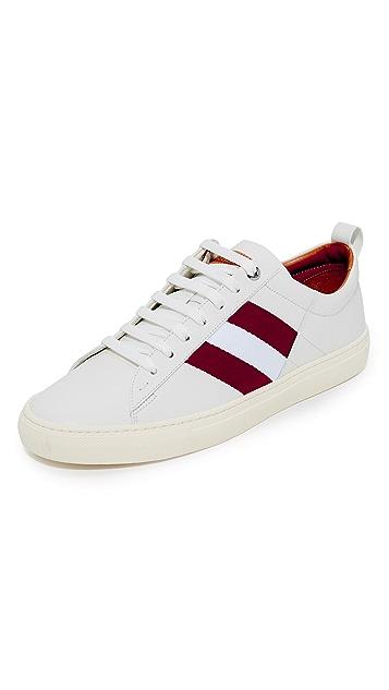 Bally Helvio Leather Sneakers