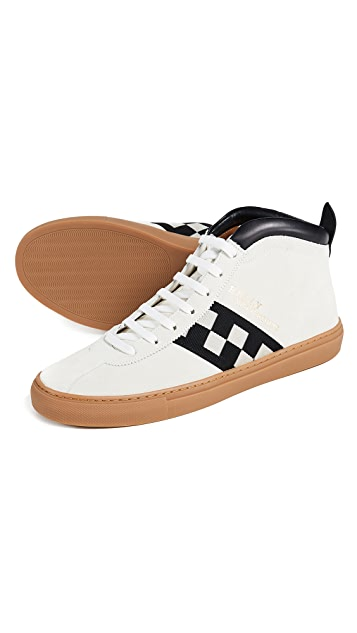 Bally Parcours Mid Top Sneakers