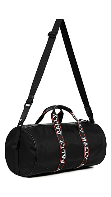 Bally Daffy Logo Duffel Bag