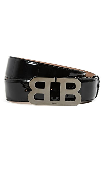 Bally Mirror Adjustable Belt