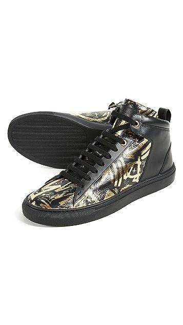 Bally Hedo High Top Sneakers