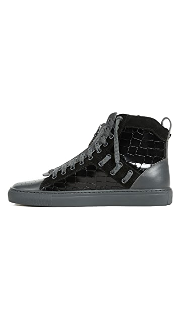 Bally Hekem High Top Sneakers