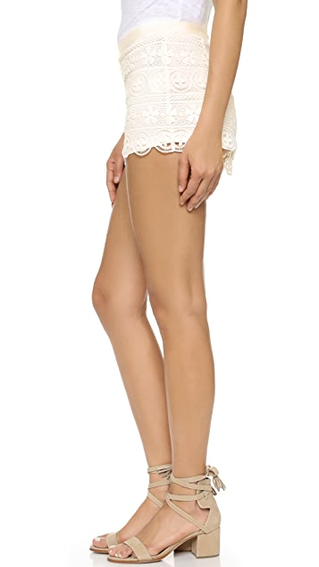 BB Dakota Keeley Lace Shorts