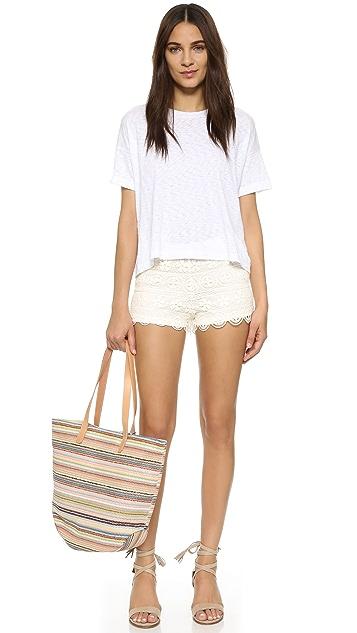 BB Dakota Keeley Lace Shorts