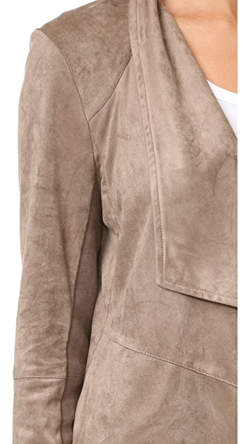 BB Dakota Nicholson Faux Suede Jacket