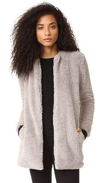 BB Dakota Merrill Wubby Collarless Jacket