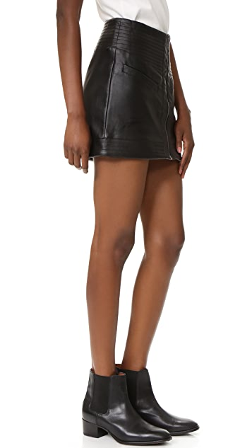 BB Dakota Jack by BB Dakota Collis Mini Skirt