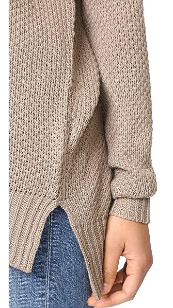 BB Dakota Jack by BB Dakota Viktor Waffle Knit Sweater