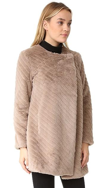 BB Dakota Winsford Faux Fur Coat