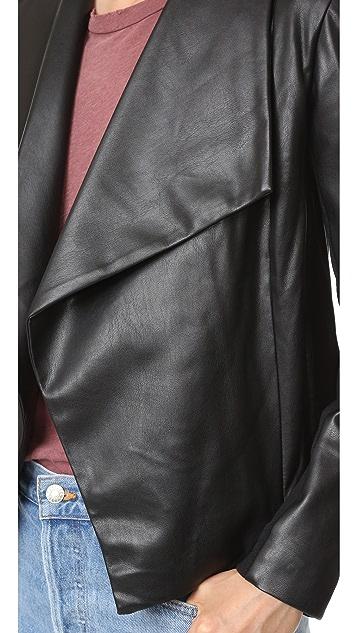 BB Dakota James Jacket with Faux Fur