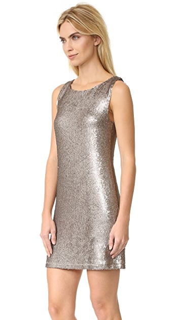 BB Dakota Penley Sequin Shift Dress